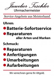 service-angebote aus meisterhand
